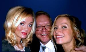 Malin, Harald och Kajsa på Ullman PR