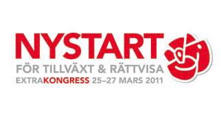 extrakongress 25-27 mars 2011 - nystart för tillväxt och rättvisa