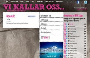 skärmdump från vikallaross.se som visar Konsult 13% inskickat av Simon Kjellberg, Stockholm