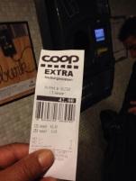 ett pantkvitto på 42 kronor